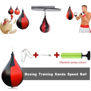 Pear-Shaped Speed Ball Decompression Vent Boxing Speed Ball Gym Exercise Speed Ball To Send Pump Hook dropshipping