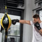 Double-End-Boxing-Dodge-Speed-Ball-PU-Leather-Inflatable-Muay-Thai-MMA-Training-Floor-to-Ceiling-Punching-Bag-Fitness-Equipment