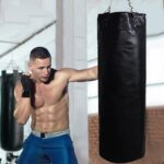 35x20x10cm-Boxing-Sandbags-Punch-Bag-With-Heavy-Duty-Steel-Chain-Boxing-Training-Fight-Karate-For-Home-Outdoors-Gym
