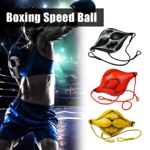 Boxing Speed Ball boxeo boks mma boxing bag Hanging Fitness Equipment Adult With Inflator Punching Bag PU Leather Gym Sports