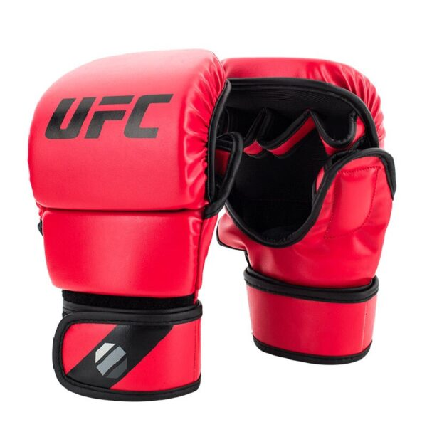 4 colors Fighting MMA Boxing Sports Leather Gloves Tiger Muay Thai fight box mma gloves boxing sanda boxing glove pads mma