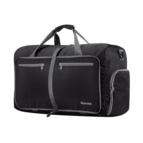 Gonex 40L Travel Luggage Bag Ultralight Suitcase Bags Foldable Packable Handbag for Men Women Holiday Weekend Trip Vacation