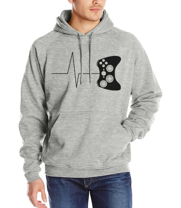 2019 men new arrival tracksuits Heartbeat of a gamer hoodies funny gaming hooded video game mma sweatshirts size S-2XL pullovers