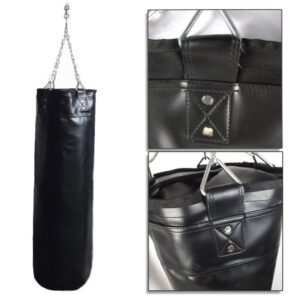 35x20x10cm Boxing Sandbags Punch Bag With Heavy Duty Steel Chain Boxing Training Fight Karate For Home Outdoors Gym