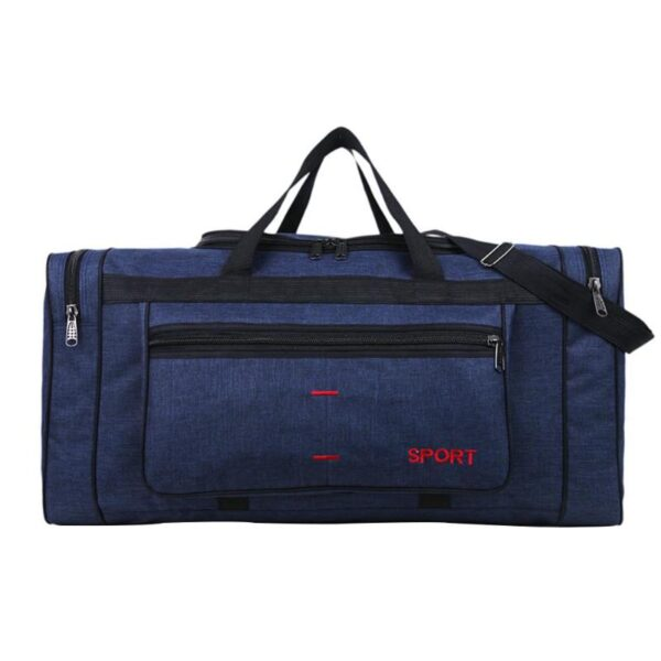 Multi-function Canvas Travel Shoulder Bags for Women Men Casual Large Capacity Sports Handbags Unisex Fitness Gym Tote