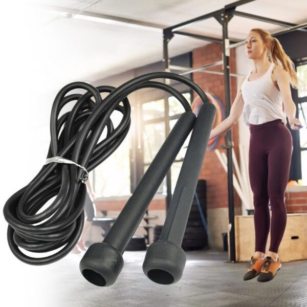 Jump Skipping Ropes Cable Steel Adjustable Fast Speed ABS Handle Jump Ropes Training Boxing Sports Exercises
